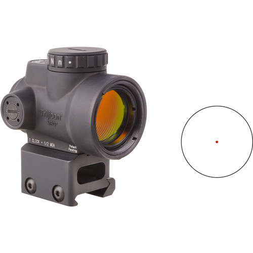 Trijicon 1x25 MRO Reflex Sight with Full Co-Witness Mount (Red Dot Reticle)  MFR # 2200005