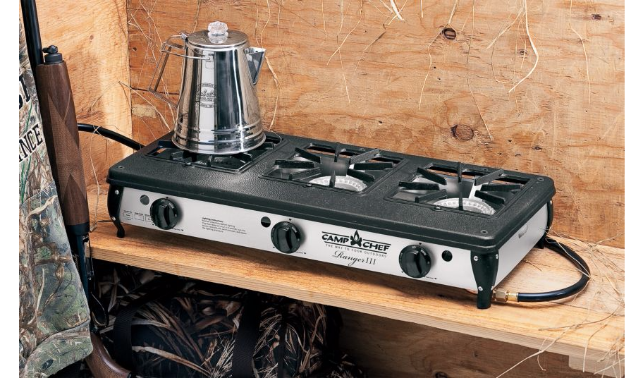 New Camp Chef 174 Ranger Series Three Burner Blind Stove