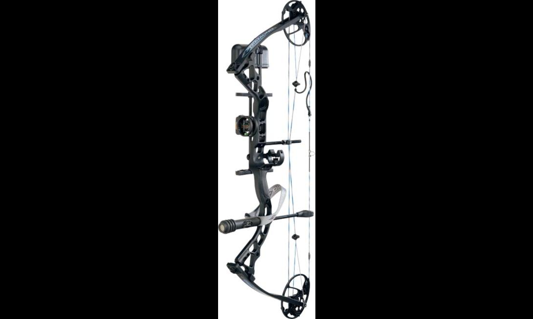 diamond archery infinite edge pro blackops compound-bow package left handed