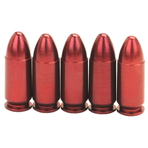 A-Zoom Pistol Mtl Snap Caps 9mmLgr 5pk Mfg# 15116