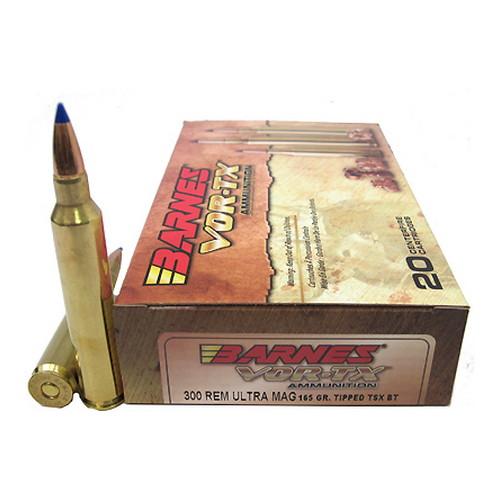 Barnes Bullets 21571 300 RUM 165gr TTSXBT VOR-TX /20 Mfg# 21571