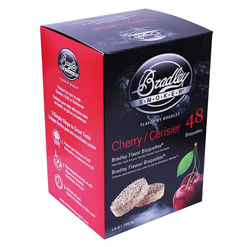 Bradley Technologies Cherry Bisquettes (48 Pack) Mfg# BTCH48