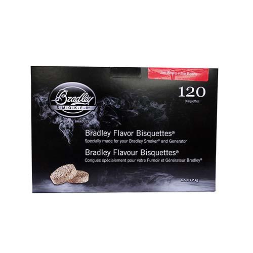 Bradley Technologies Jim Beam Bourbon Bisquettes 120pk Mfg# BTJB120
