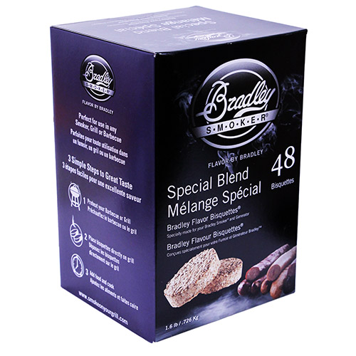 Bradley Technologies Special Blend Bisquettes(48 Pack) Mfg# BTSB48