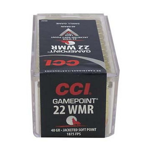 CCI 22WMR 40gr Gamepoint/50 Mfg# 22