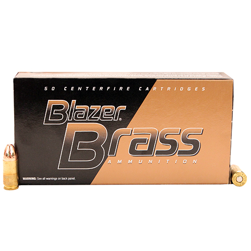 CCI 9mm 115gr FMJ Blazer Brass Mfg# 5200