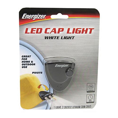 Energizer 3-LED Cap Light - 14 Lumens Mfg# CAPW2BBP
