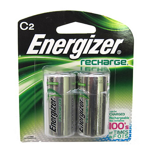 Energizer NiMH Rechargeable C (Per 2) Mfg# NH35BP-2