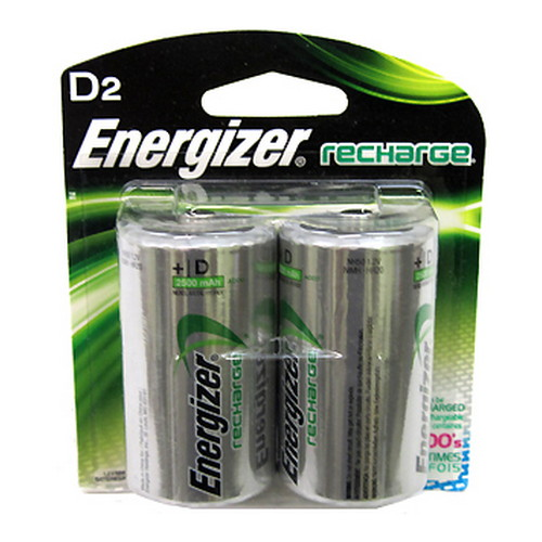 Energizer NiMH Rechargeable D (Per 2) Mfg# NH50BP-2