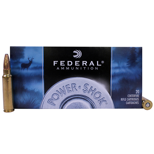 Federal Cartridge 300 Sav 150gr SP Power-Shock /20 Mfg# 300A