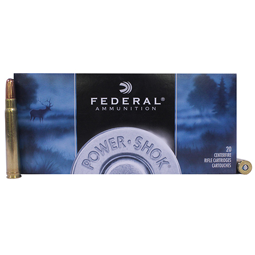 Federal Cartridge 375 H&H Mag 270gr SP Pwr-Shok /20 Mfg# 375A