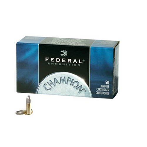 Federal Cartridge 22LR 40gr HV Champion Solid /50 Mfg# 510