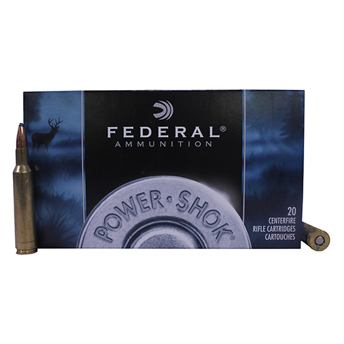 Federal Cartridge 6mm Rem 100gr SP Power-Shock /20 Mfg# 6B