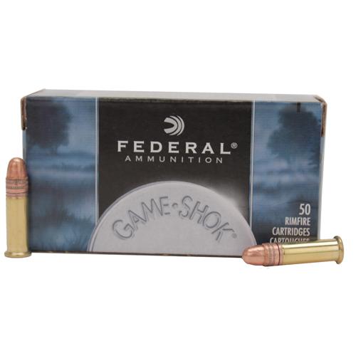 Federal Cartridge 22LR HV 40Gr. Solid Copper Plated Mfg# 710