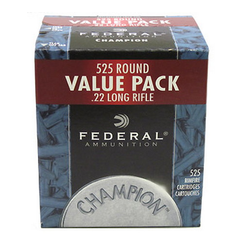 Federal Cartridge 22LR 36grHV ChamCopperHP Bulk/525 Mfg# 745
