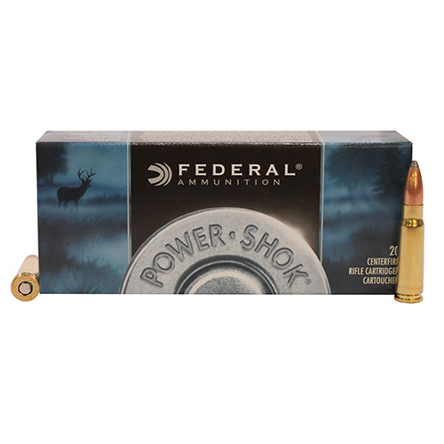 Federal Cartridge 7.62x39 Soviet 123gr SP PwrShk/20 Mfg# 76239B