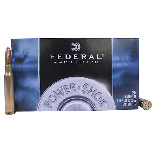 Federal Cartridge 7mm Mauser 175gr SP-RN PwrShk /20 Mfg# 7A