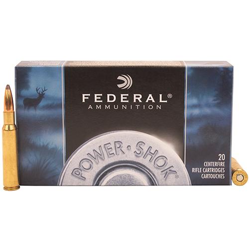 Federal Cartridge 7mm Mauser 140gr SP Power-Shok/20 Mfg# 7B