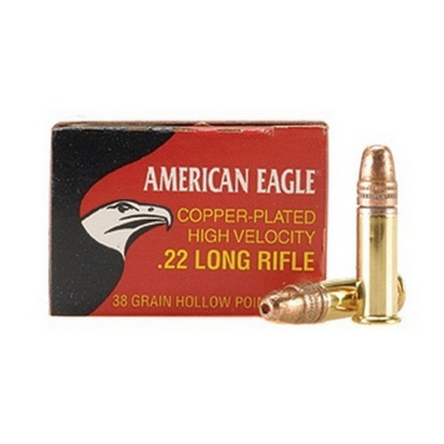 Federal Cartridge 22LR 38gr Copper HP AmerEagle /40 Mfg# AE22