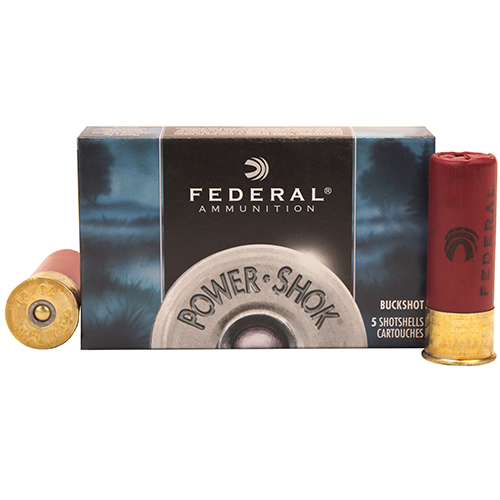 "Federal Cartridge Classic Buckshot 12ga 2 3/4"" 000 Mfg# F127000"