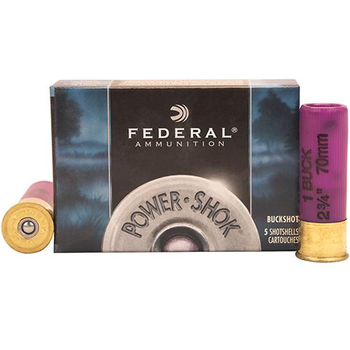 "Federal Cartridge Classic Buckshot 16ga 2 3/4"" 1 Mfg# F1641B"
