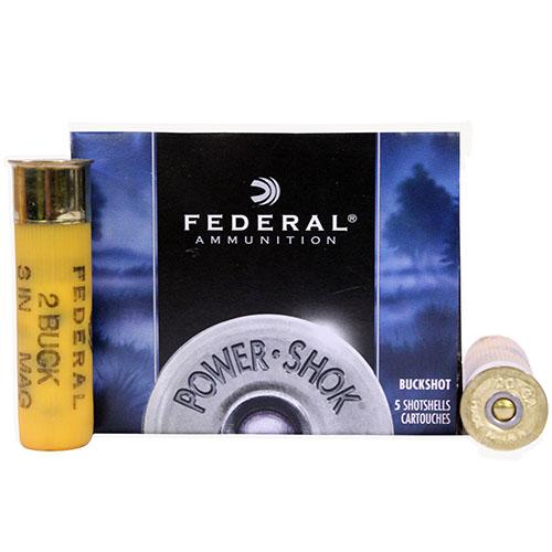 "Federal Cartridge Classic Buckshot 20ga 3"" 2Buck Mfg# F2072B"