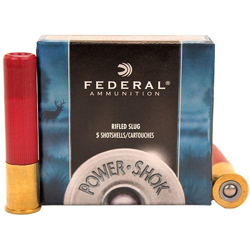 "Federal Cartridge Rifled Slugs 410ga 2 1/2"" HP Mfg# F412RS"