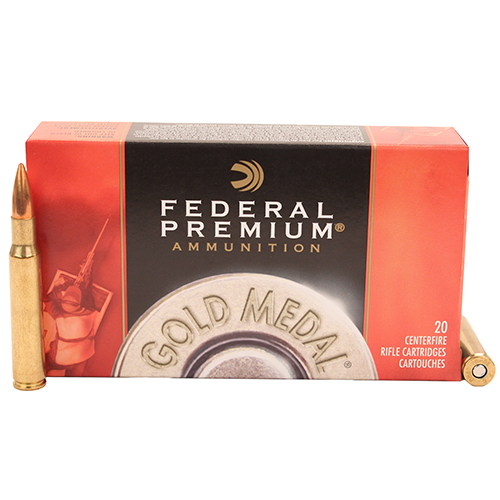 Federal Cartridge 30-06Spfld 168gr BTHP Match/20 Mfg# GM3006M