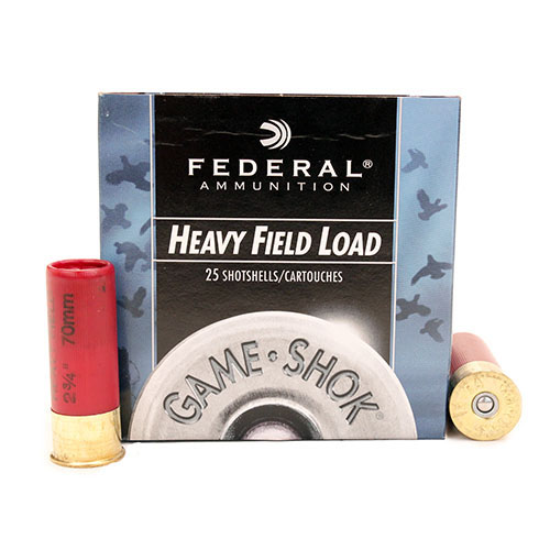 "Federal Cartridge Field 12ga 2 3/4"" 7.5-Shot /25 Mfg# H12375"