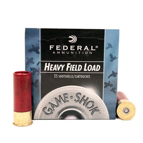 "Federal Cartridge Field 12ga 2 3/4"" 8-Shot /25 Mfg# H1238"