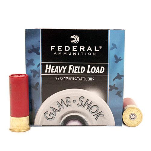 "Federal Cartridge 12ga 2-3/4"" 6-Shot Field /25 Mfg# H1256"
