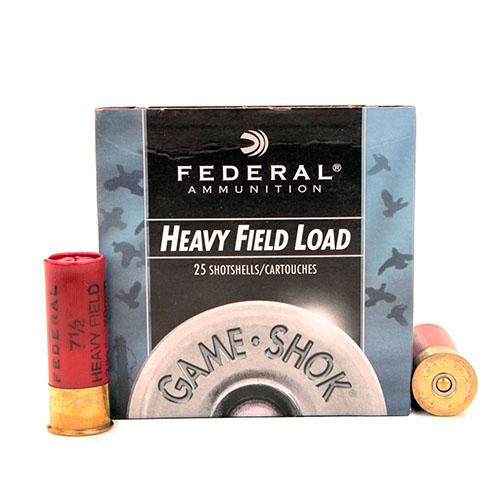 "Federal Cartridge Field 12Ga. 2 3/4"" 7.5-Shot /25 Mfg# H12575"