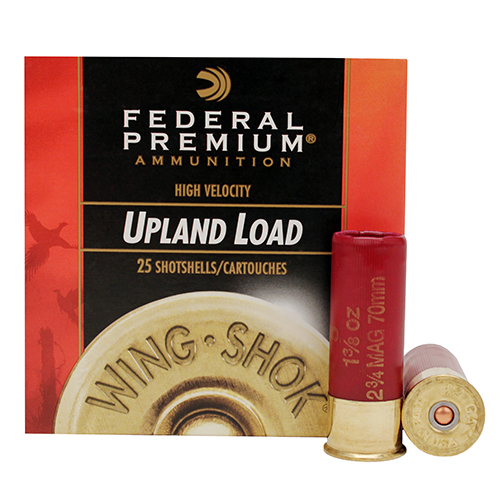 "Federal Cartridge Lead HV 12Ga. 2.75"" 4-Shot/25 Mfg# P1384"