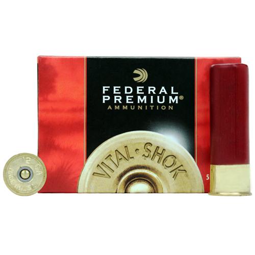 """Federal Cartridge Buckshot 12Ga. 3"""" 4-Buck/5 Mfg# P1584B"""