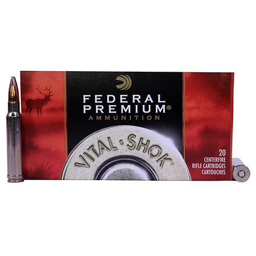 Federal Cartridge 338 WinMag 210gr NoslPart VtSh/20 Mfg# P338A2
