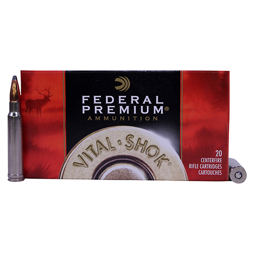 Federal Cartridge 338 WinMag 250gr NoslPart VtSh/20 Mfg# P338B2