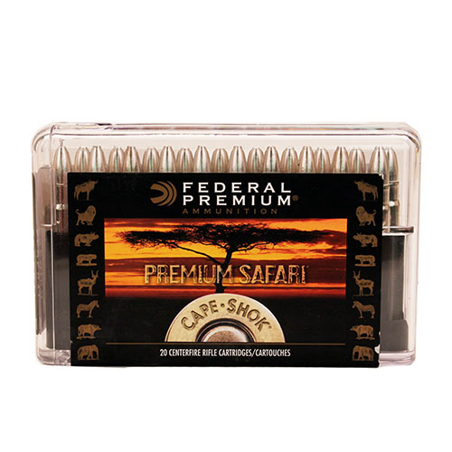 Federal Cartridge 375 H&HMag 300gr TB-Bear CpShk/20 Mfg# P375T1
