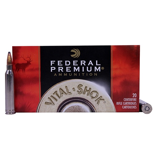 Federal Cartridge 7mm RemMag 165gr SierBTSP VtSh/20 Mfg# P7RE