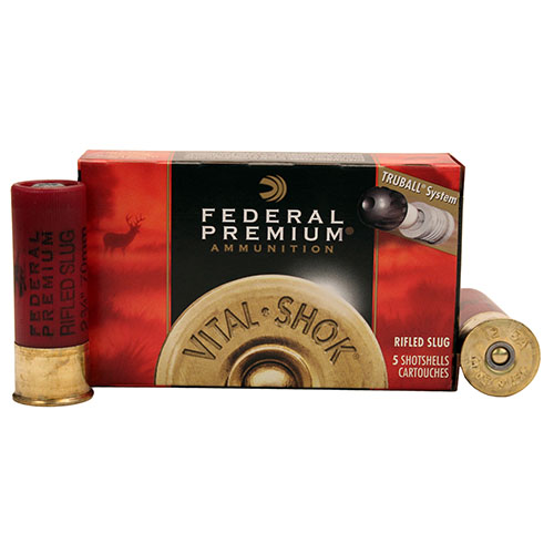 "Federal Cartridge 12ga Rif Slug 2 3/4"" Tru Ball HP Mfg# PB127RS"