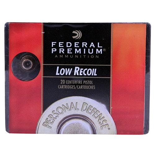 Federal Cartridge Premium 380 Auto 90Gr. JHP/20 Mfg# PD380HS1H