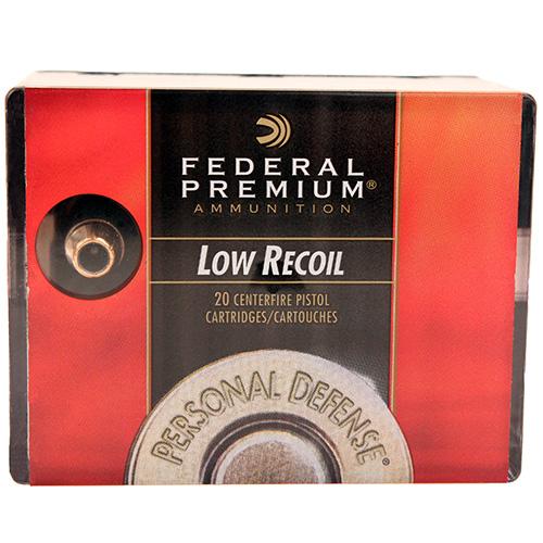 Federal Cartridge Premium 38 Special 110Gr. JHP Mfg# PD38HS3H