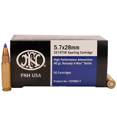 Federal Cartridge SS197 SR 5.7x28mm/40gr, 50Rnds Mfg# SS197SR