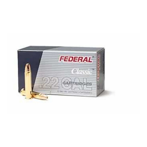 Federal Cartridge 22LR HV 38gr HP CopperPltd /50 Mfg# 712