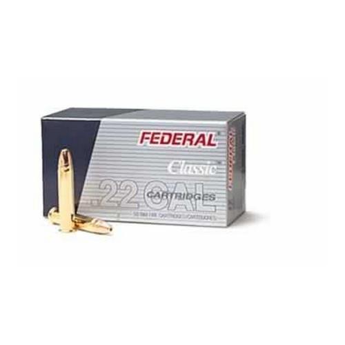 Federal Cartridge 22LR HV 38gr HP CopperPltd /50 Mfg# 712