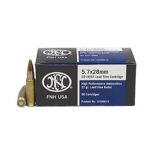 FNH SS195 LF 5.7x28mm - 50rds/Box Mfg# 10700013