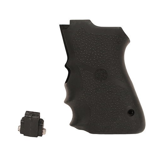 Hogue S&W 6906 Shorty 40 Rub Grip w/FG Blk Mfg# 69000