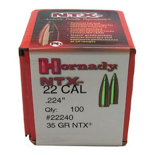 Hornady 22 Cal .224 35gr NTX /100 Mfg# 22240