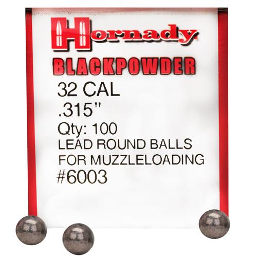 Hornady 315 Lead Balls/100 Mfg# 6003