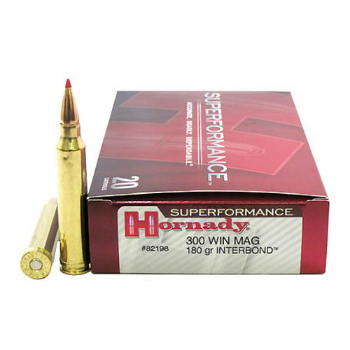 Hornady 300 Win Mag 180gr Ib Spf 20 Mfg 82198 Opticsandammo Com Hunting Shooting Sport Optics And Ammunition Products With Free Shipping