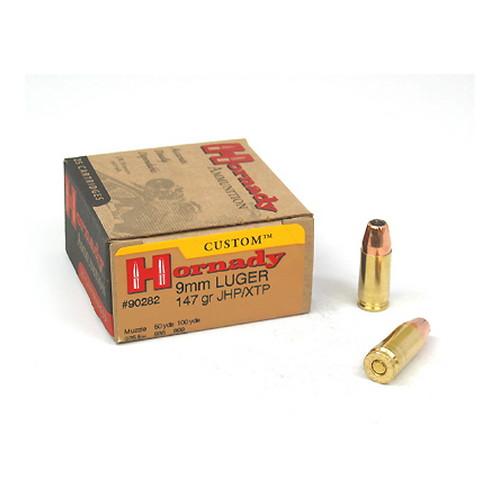 Hornady 9mm Luger 147gr HP/XTP /25 Mfg# 90282